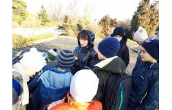 Ученики 4 А класса провели экологическую акцию в Ботаническом саду