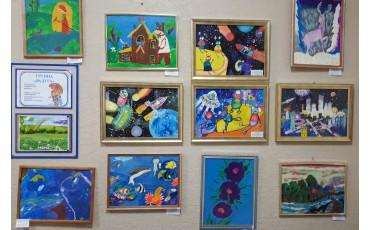 Выставка творческих работ учащихся  Приморского края!