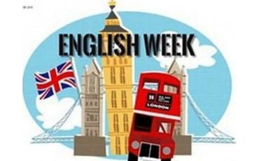 Неделя английского языка в первых классах!