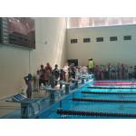 Самые юные пловцы нашей школы показали  свое мастерство!