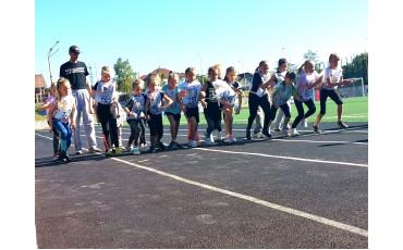 Спортсмены НШДС «Классическая европейская прогимназия» приняли участие в «Кроссе нации - 2021»