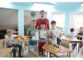 """Поздравляем победителей первого шахматного турнира """"Золотая пешка"""", 2017"""