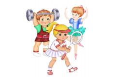 Начинаем общешкольные олимпийские игры!